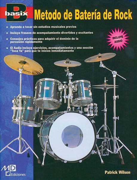 Basix®: Rock Drum Method (Metodo de Batería de Rock)