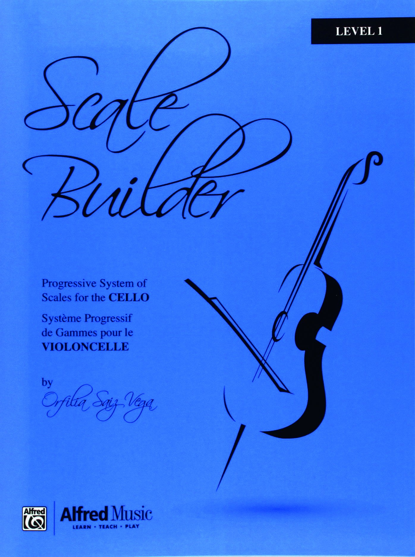 Scale Builder for Cello Level 1