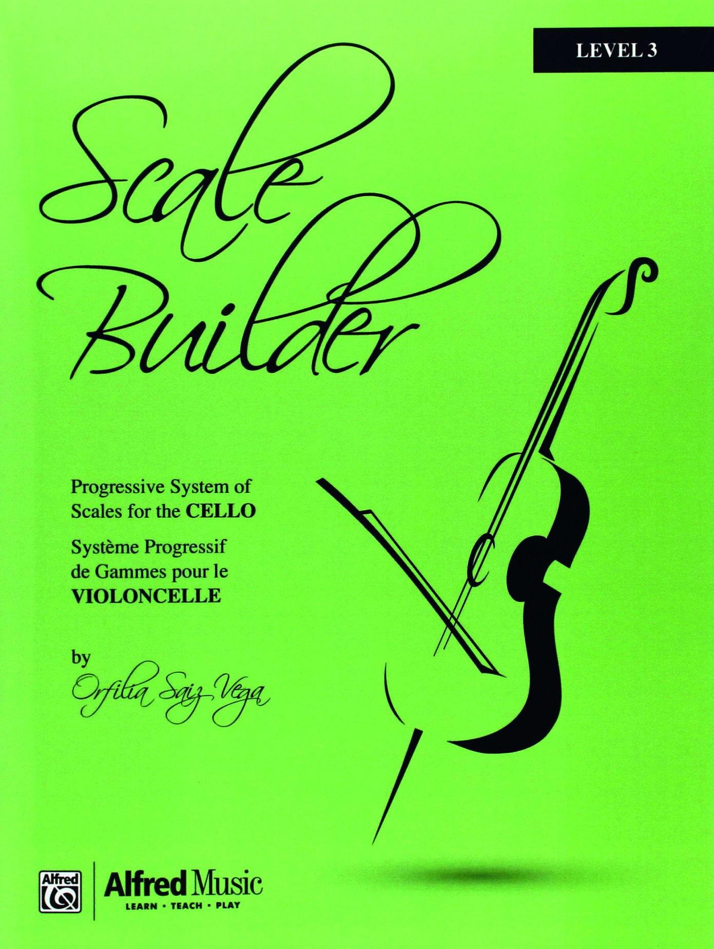 Scale Builder for Cello Level 3