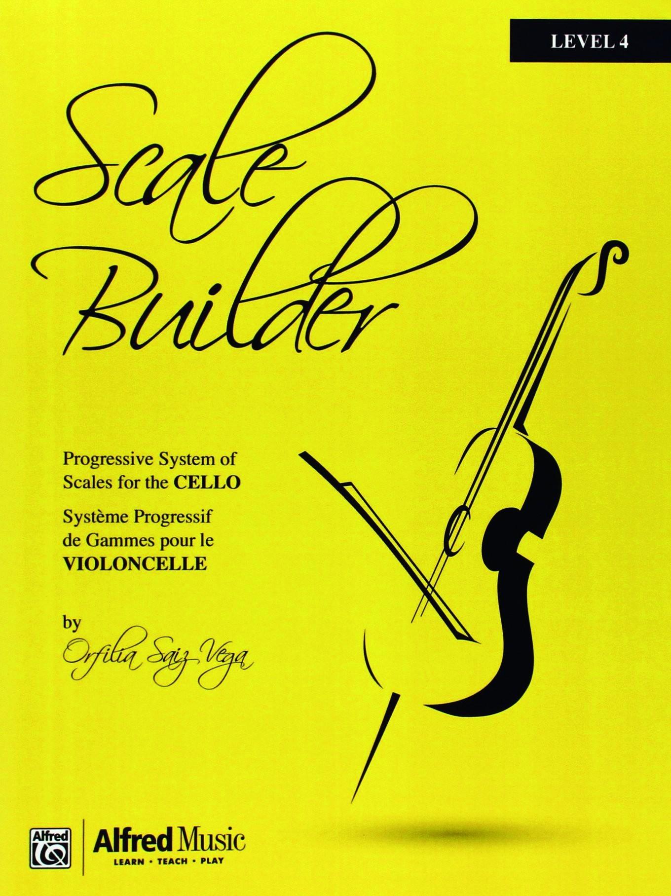 Scale Builder for Cello Level 4