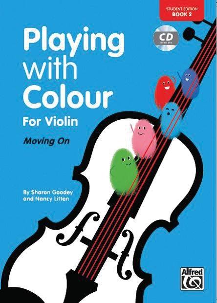 Playing with Colour for Violin, Book 2