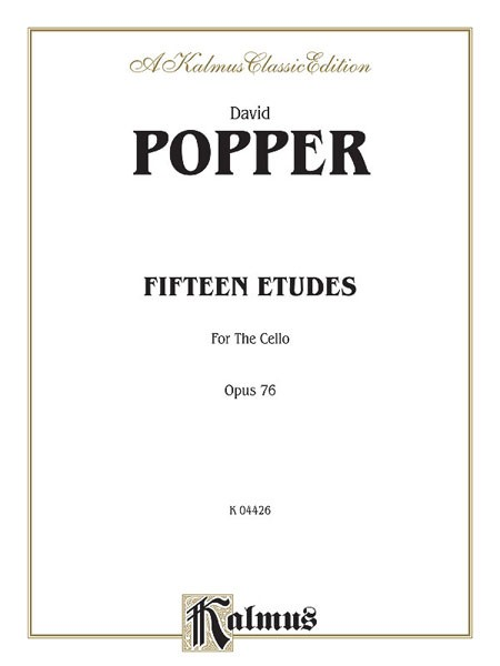 Fifteen Etudes for Cello, Opus 76