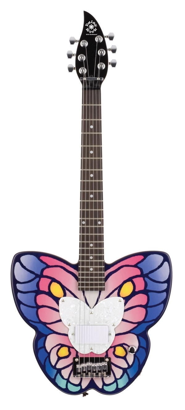 Butterfly Short Scale Electric Guitar