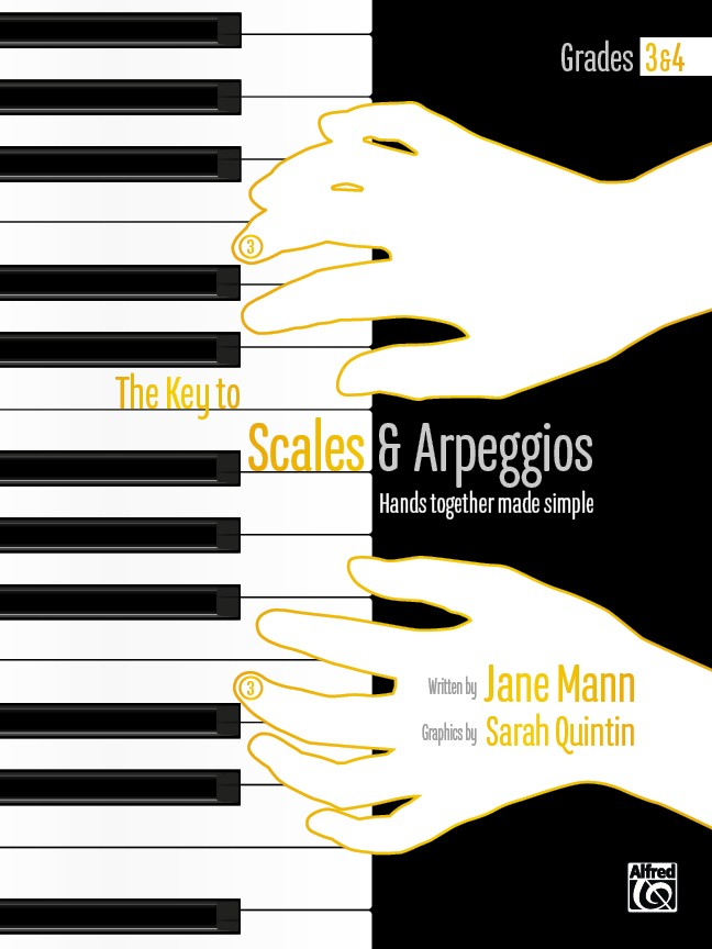 The Key to Scales and Arpeggios Book 2 (Grades 3-4)