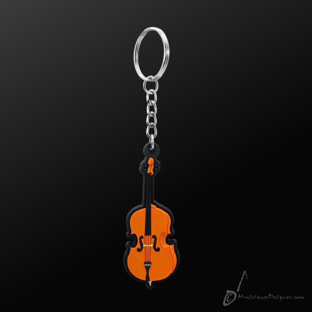 Instrument Keyring Cello