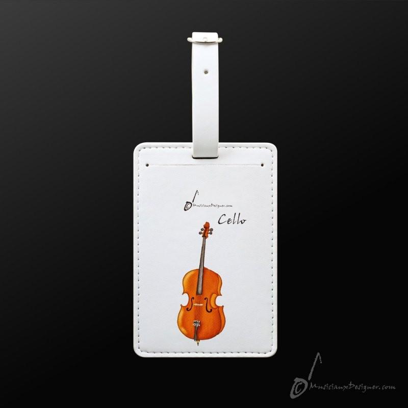 Luggage Tag Cello
