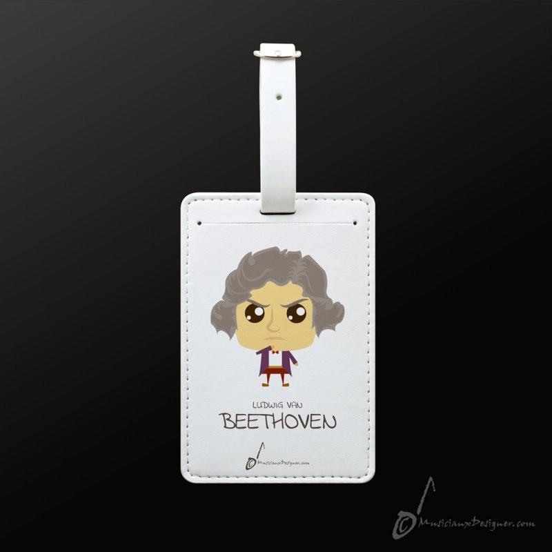 Luggage Tag Beethoven