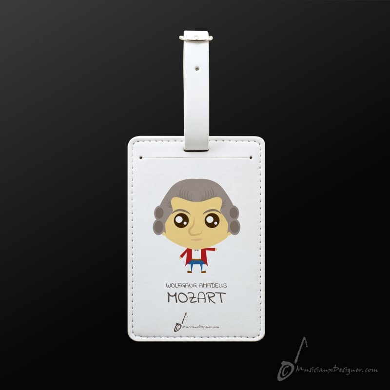 Luggage Tag Mozart