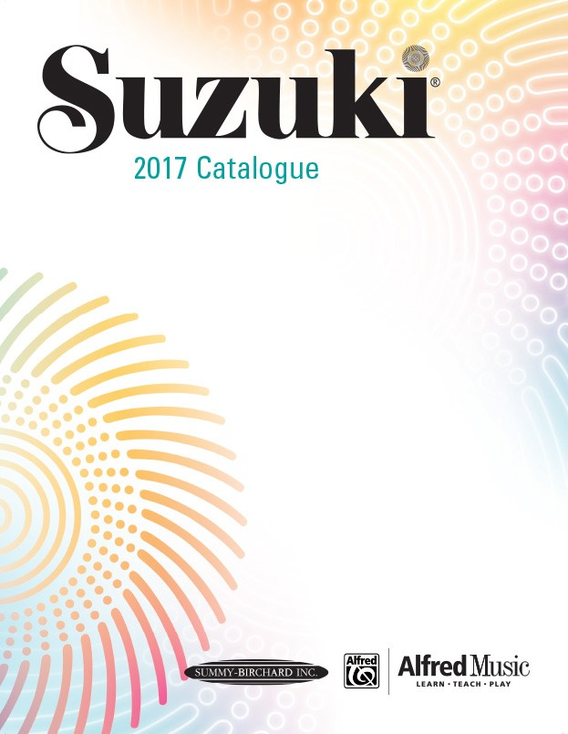 Suzuki 2017 Catalogue