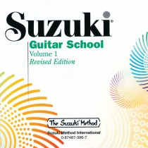 Suzuki Guitar School CD, Volume 1 (Revised)