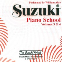 Suzuki Piano School CD, Volume 3 & 4