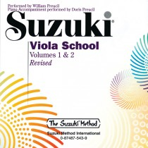 Suzuki Viola School, Volumes 1 & 2
