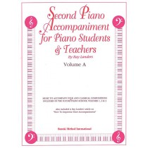 Second Piano Accompaniments, Volume A
