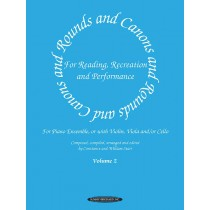 Rounds and Canons for Reading, Recreation and Performance, Piano Ensemble, Volume 2
