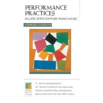 Performance Practices in Late 20th Century Piano Music VHS