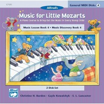 Music for Little Mozarts: GM 2-Disk Sets for Lesson and Discovery Books, Level 4