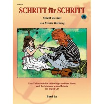 Step by Step 1A: An Introduction to Successful Practice for Violin [Schritt für Schritt]