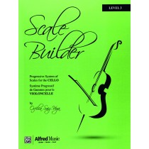 Scale Builder for Cello Level 3