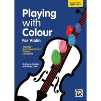 Playing with Colour for Violin, Teacher Book