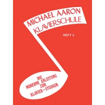Michael Aaron Piano Course: German Edition (Klavierschule), Book 2