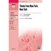Theme From New York, New York SATB