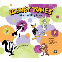 Looney Tunes Music Writing Book