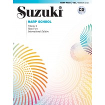 Suzuki Harp School Harp Part & CD, Volume 4