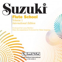 Suzuki Flute School International Edition CD, Volume 1