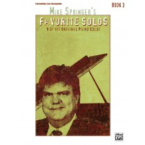 Mike Springer's Favorite Solos, Book 3