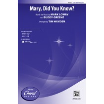 Mary Did You Know SSA