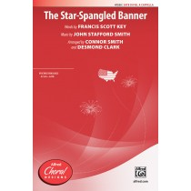 Star Spangled Banner,The SATB A Cap