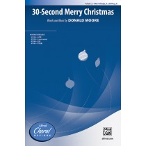 30 Second Merry Christmas 3 PT MXD A Cap