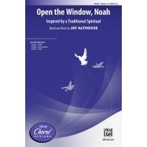Open The Window Noah SSAA A Cap