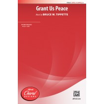 Grant Us Peace SATB A Cap
