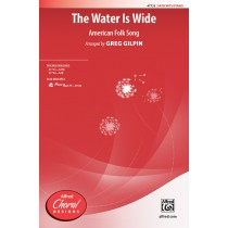 Water Is Wide, The SATB