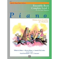 Alfred's Basic Piano Library: Ensemble Book Complete 1 (1A/1B)