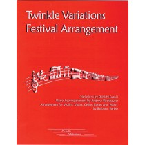 Twinkle Variations Festival Arrangement