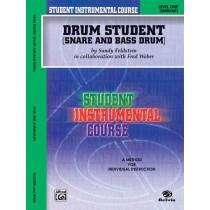 Student Instrumental Course: Drum Student, Level I