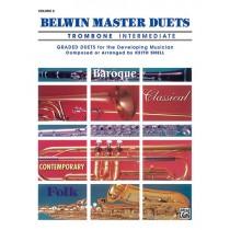Belwin Master Duets (Trombone), Intermediate Volume 2