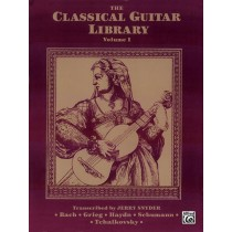 The Classical Guitar Library, Volume I