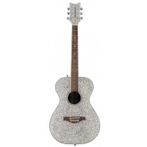 Pixie Acoustic Guitar Silver Sparkle