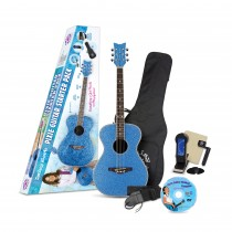 Pixie Acoustic Starter Pack Blue Sparkle