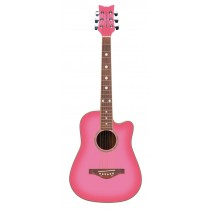 Wildwood Acoustic S/S Pink Burst Left Ha