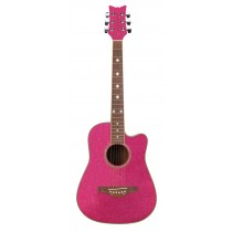 Wildwood Acoustic S/S Gtr Atomic Pink