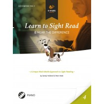 Learn to Sight Read Piano Book 4