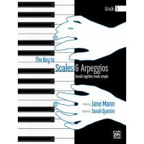 The Key to Scales and Arpeggios Book 3 (Grade 5)