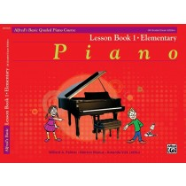 Alfred's Basic Piano Library Graded Lesson Book 1