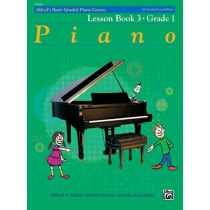 Alfred's Basic Piano Library Graded Lesson Book 3