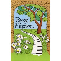 Schaum Recital Programs (Blank) #15: Keyboard Path