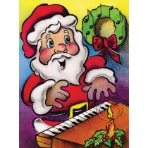 Greeting Cards: Santa Claus (Pack of 12)